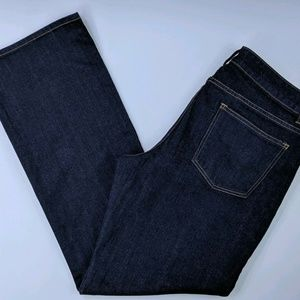Talbots 14/32 Blue Jeans Signature Boot Cut New